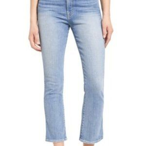 7 For All Mankind Cropped Boot Jeans *NWT*